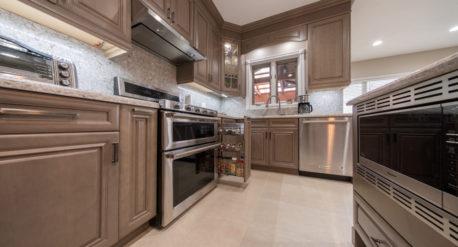 Arctic - Silestone Quartz counter top - Modern Kitchen (7)