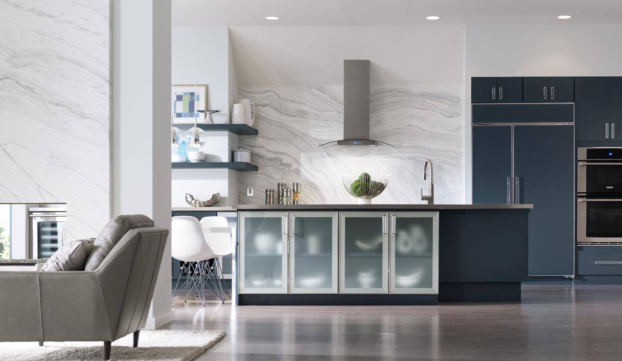 Beautiful In Modern Kitchen Always Is About Sharing A Tendency Toward The Horizontal:  Long, Wide Lines, Stacks Of Drawer Cabinets Lined In A Row, Hardware Set  Long ...