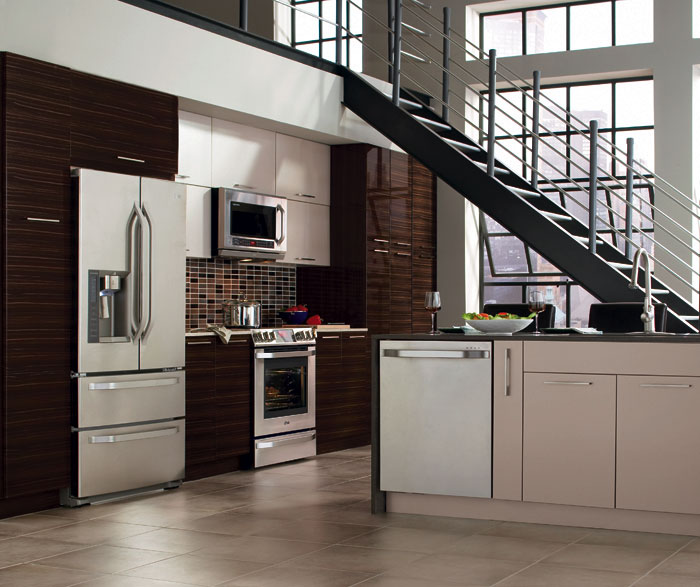 Kitchen Design High Gloss: Modern Contemporary Kitchen Design