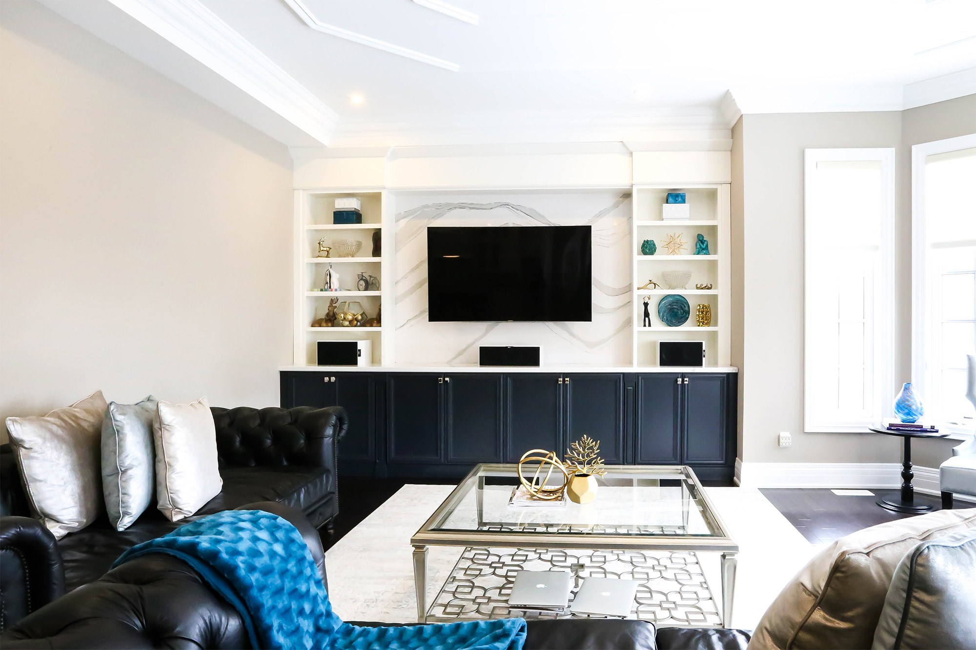 Sarracini Cres Project (Tv Unit & Home Office)