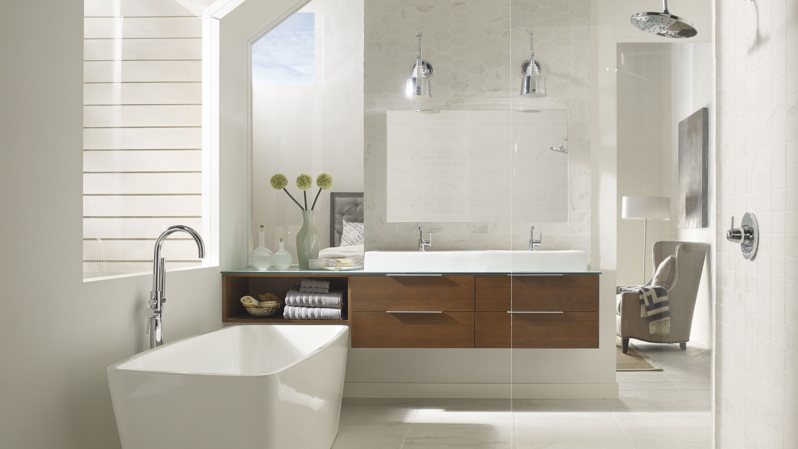 Wall Hung Vanity Cabinet Large Tango Kitchens