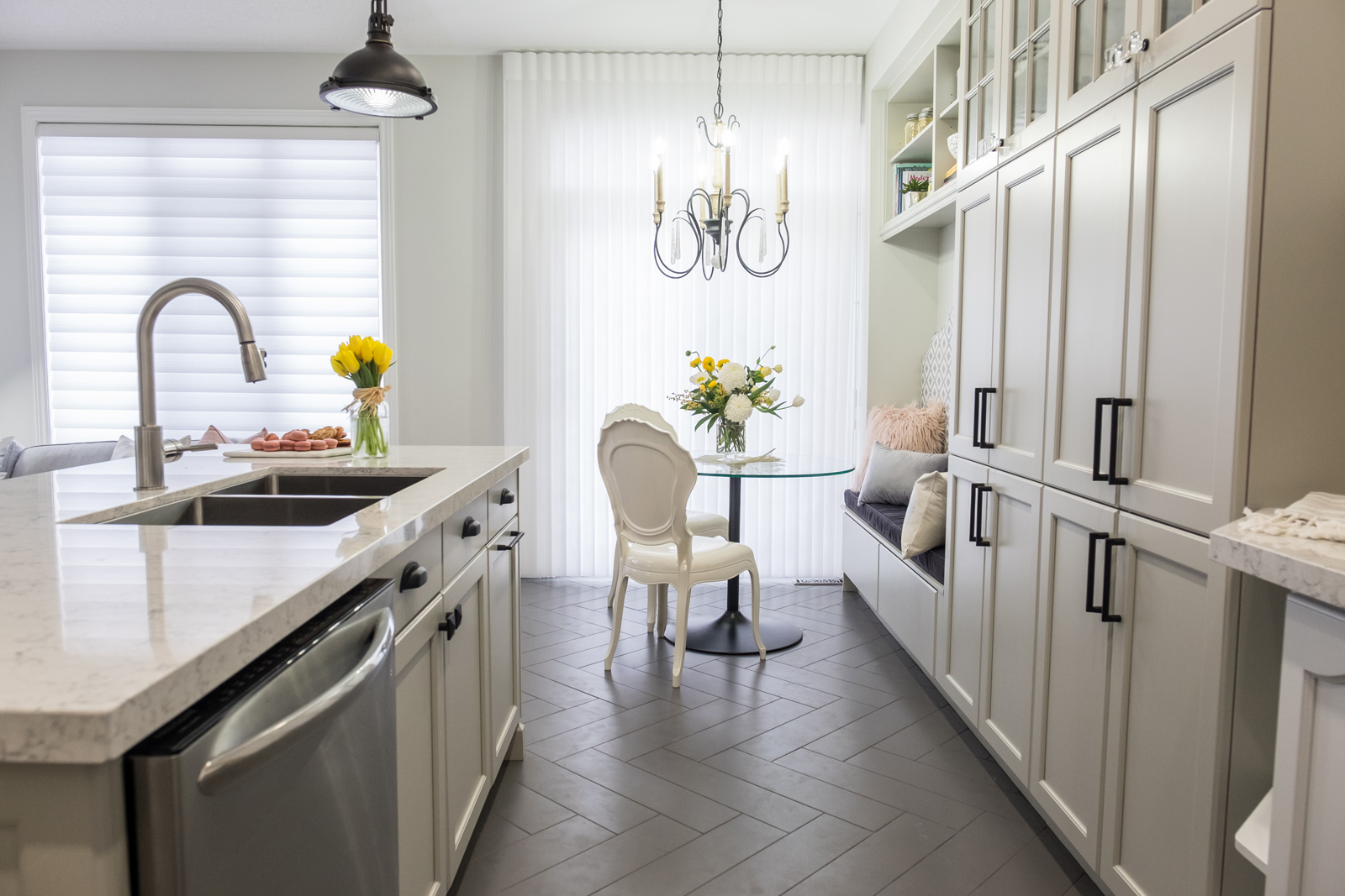 Property Brothers In Toronto Modernized Kitchen With Tango