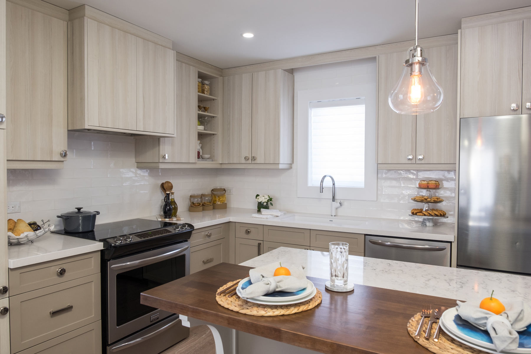 Property Brothers In Toronto Modernized Kitchen With Tango Kitchens