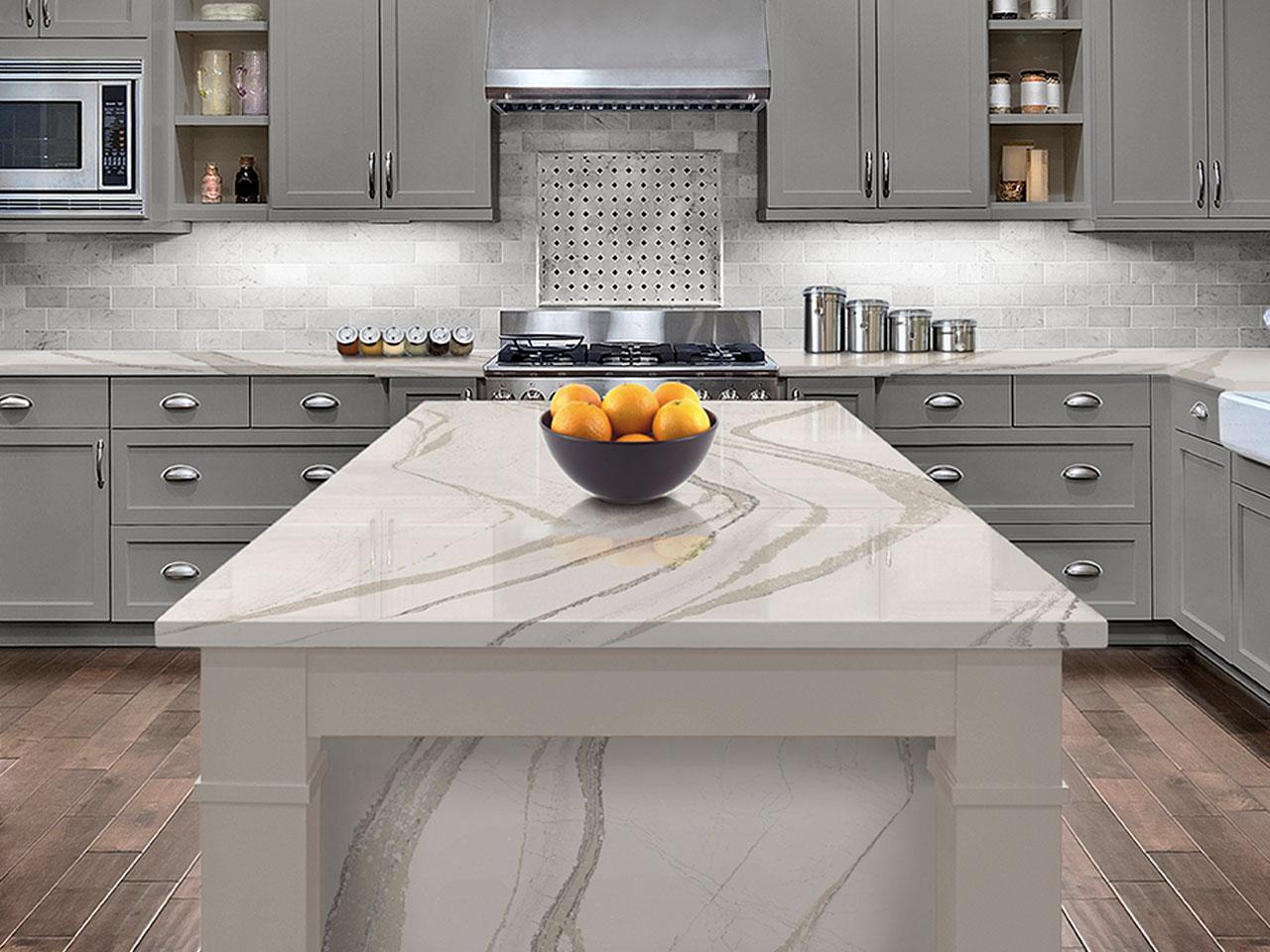 Quartz kitchen trend 2017