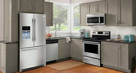3. Classy and Modern Stainless Steel Appliances