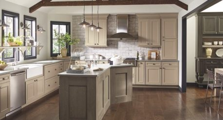 transitional kitchen - trend 2017