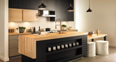2018 design - Warm Wooden Countertops
