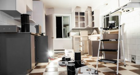 Living Through a Kitchen Renovation